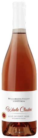 2018 Willamette Valley Vineyards Whole Cluster Rosé of Pinot Noir